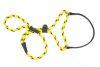 Mendota Pet - Black Ice Big Dog Walker - 1/2 Inch x 6 Feet - Yellow