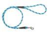 Mendota Pet - Black Ice Small Snap Leash - 3/8 Inch x 4 Feet - Turquoise