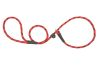 Mendota Pet - Black Ice Small Slip Lead - 3/8 Inch x 4 Feet - Red