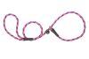 Mendota Pet - Black Ice Small Slip Lead - 3/8 Inch x 4 Feet - Raspberry