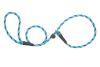 Mendota Pet - Black Ice Small Slip Lead - 3/8 Inch x 4 Feet - Turquoise