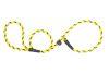 Mendota Pet - Black Ice Small Slip Lead - 3/8 Inch x 4 Feet - Yellow