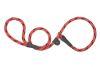 Mendota Pet - Black Ice Slip Lead - 1/2 Inch x 4 Feet - Red