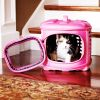 Iconic Pet - Deluxe Retreat Foldable Pet House - Pink
