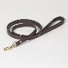 "Hound's Best - Medium ""Dover"" Leather Dog Leash - 6 feet"