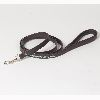 "Hound?s Best - Medium Decorated ""Papillon"" Leather Dog Leash - 6 feet"