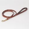 "Hound?s Best - Small ""Leeds"" Leather Dog Leash - 4 feet"