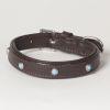 "Hound?s Best - XX-Small Genuine Leather Dog Collar ""Arizona"""