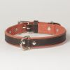 "Hound?s Best - Medium Canvas Leather Dog Collar ""Sierra"""