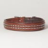 "Hound?s Best - Medium Genuine Leather Dog Collar ""Magnifico"""