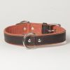 "Hound?s Best - Large Canvas Leather Dog Collar ""Sierra"""