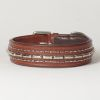 "Hound?s Best - Large Genuine Leather Dog Collar ""Magnifico"""