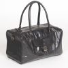 Hound?s Best - Deluxe Pet Travel Carrier - Genuine Black Leather