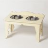 Hound?s Best - Large Raised Dog Feeder - Shabby Chic