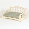 "Hound?s Best - Medium Raised Orthopedic Foam Dog Bed ""French Country"""