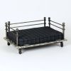 "Hound?s Best - Medium Raised Orthopedic Foam Dog Bed ""Vintage Industrial"""