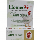 Homeopet - Avian Wrm Clear - 15 Ml