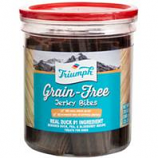 Triumph Pet Industries - Triumph Grain Free Jerky Bites - Duck  - 20 Ounce