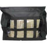 Horse And Livestock Prime - Hay Bag Slow Top Load - Black - 24.5 X 10 X .25