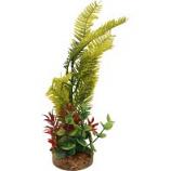 Blue Ribbon Pet Products -Color Burst Florals Blade Grass Plant - Green - Medium