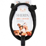 Quaker Pet Group -Sherpa Dog Harness With Built In Leash - Black - X Large