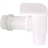 Tolco Corporation -Drum Faucet For Standard Ips Drums - White
