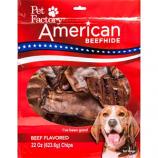 Pet Factory - American Beefhide Chips - Beef - 22 oz