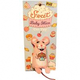 Fuzzu - Sweet Baby Mice Cupcake Mouse Cat Toy - Multi - Medium