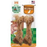 Tfh Publications/Nylabone - Healthy Edibles Broth Bone - Ham - Medium/2 Ct