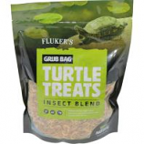 FLUKERS -GRUB BAG TURTLE TREAT-INSECT BLEND-12 OZ
