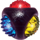 Multipet International - Doglucent Diamond Ball with Led Light - Assorted - 3 Inch