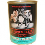 Replenish Pet - Maximum Bully Canned Dog Food - Chicken / Mackere - 13.2 Ounce