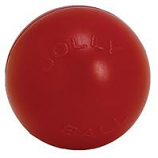 Jolly Pets - Push-N-Play Ball - Red - 6 In