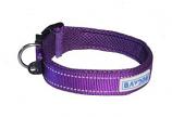 BayDog - Tampa Collar- Purple - Large