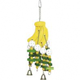 A&E Cage Company - Hb Wooden Bananas Toy - Multi - Large