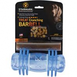 Starmark Pet Products - Treat Dispensing Barbell Dog Chew - Blue - Large