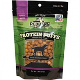 Redbarn Pet Products - Protein Puffs Dog Treat - Peanut Butter - 1.8 Ounce