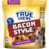 Tyson Pet Products - True Chews Bacon Style Dog Treats - Bacon - 16 Oz