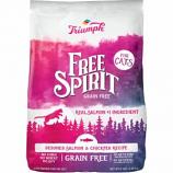 Triumph Pet Industries - Free Spirit Dry Cat Food - Salmon/Chickpea - 11 Lb