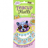 Fuzzu - Raccoon Tea Cup Fluffs Series Catnip Toy - Purple - Medium