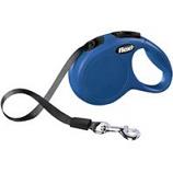 Flexi North America - Classic X-Small Tape Retractable Leash - Blue - 10 Ft