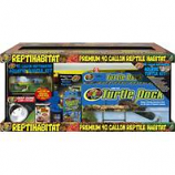 Zoo Med Laboratories - Reptihabitat Premium Habitat Aquatic Turtle Kit - 40 Gallon