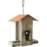 Natures Way Bird Products - Nature'S Way Rustic Vertical Feeder