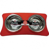 Ethical Ss Dishes -New Wave Double Diner - Red - 1 Pint