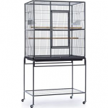 Prevue Pet Products - Wrought Iron Flight Cage With Stand - Black - 31X20.5X59.25 Inch