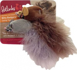Worldwise Inc -Bitty Badgers Catnip Cat Toy -2 Pack