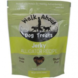 Walkabout Pet Treats - Walk About Grain Free Dog Jerky - Alligator - 5.5 oz