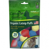 Multipet International - Catnip Puffs Balls - Assorted - 20 Count