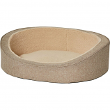 Midwest Homes For Pets - Quiet Time Deluxe Hudson Pet Bed - Tan - Small