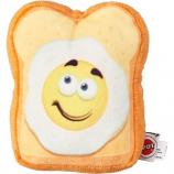 Ethical Dog - Fun Food Egg On Toast Plush Toy